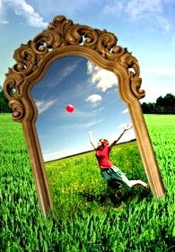 мир зеркало радость